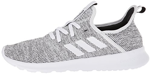 adidas Performance Women's Cloudfoam Pure Running Shoe, White/White/Black, 8 M US