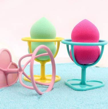 TiooDre Makeup Egg Powder Puff Blender Sponge Display Stand Drying Holder Storage Rack - Blue