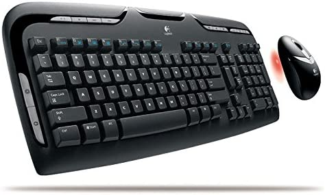 Amazon Com Logitech Logitech Cordless Desktop Ex100 Keyboard And Mouse Catalog Category Computer Technology Input Devices Computers Accessories