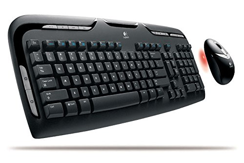 (LOGITECH, Logitech Cordless Desktop EX100 Keyboard and Mouse (Catalog Category: Computer Technology / Input Devices))