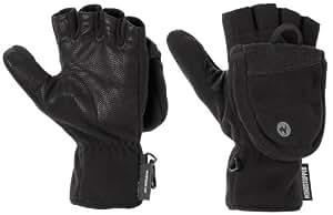 Marmot Men's Windstopper Convertible Glove, Black, Small