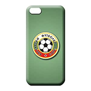 iphone 5 5s First-class Protection Back Covers Snap On Cases For phone phone cover shell bulgaria football logo