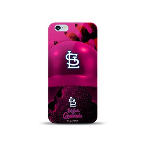 MIZCO SPORTS Helmet Case for iPhone 6 Plus/6s Plus - MLB St Louis Cardinals