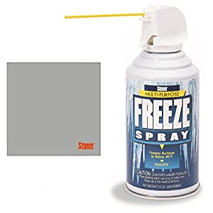 Stoner Inc - Freeze Spray - 10oz with (1) Stoner Microfiber Cloth