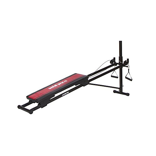 Cheap New Total Gym Achiever Exercise System Resistance Cardio Training Workout Tones Major Muscles Groups Arms Legs Chest Backs Thighs Abs Shoulders Easy Storage For Beginners Advanced All Fitness Levels