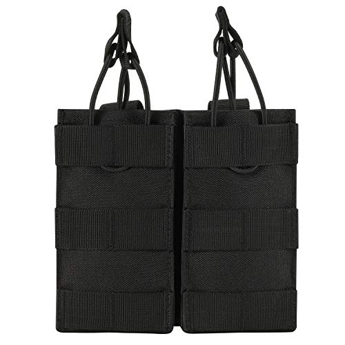 Barbarians Tactical MOLLE Double Mag Pouch - 2 Magazine Pouch Hold M4/M16/AR15 -
