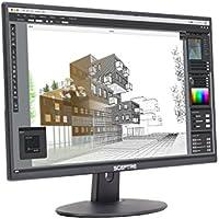 Sceptre E275W-19203R 27' Ultra Thin 1080p LED Monitor 2x HDMI VGA Build-in Speakers, Metallic Black 2018