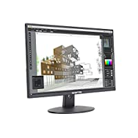 Sceptre E275W-19203R 27″ Ultra Thin 1080P LED Monitor 2X HDMI VGA Build-In Speakers, Metallic Black 2018