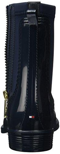 Mujer Azul Botas Chelsea Hilfiger para Midnight Tommy O1285dette 12r 6cYWFnT