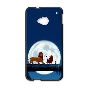 The Lion King Black HTC M7 case
