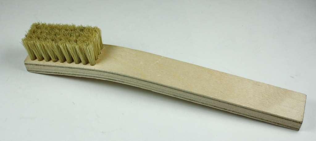 Techspray 2022-1 Wooden 4 Rows Stiff Bristles