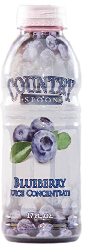 Blueberry Juice Concentrate by Country Spoon (17 (Organic 100% Orange Extract)