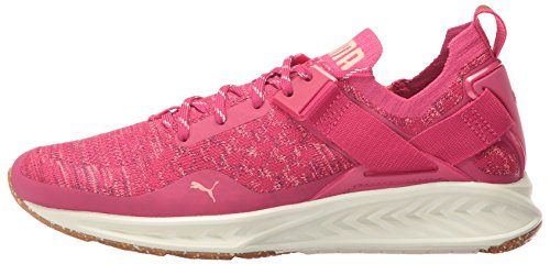 PUMA Women's Ignite Evoknit Lo vr Wn Sneaker, Love Potion-Nrgy Peach-Dark Purple, 5.5 M US by PUMA (Image #5)