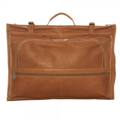 Piel Leather Tri-fold Garment Bag, ()