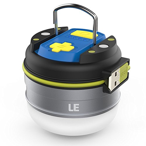 Le Rechargeable Led Camping Lantern 3000mah Power Bank