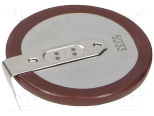 Panasonic ( 1X VL2330 ) Rechargeable, VL2330 - VL 2330, VL2330/HFN , 3V Lithium Coin Cell Battery ()