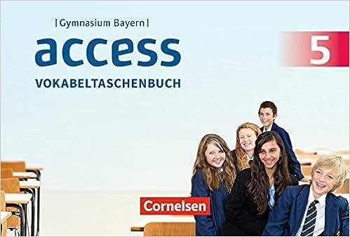 Access Bayern: Jahrgangsstufe Vokabeltaschenbuch