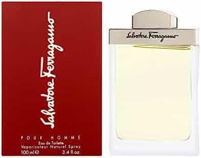 Salvatore Ferragamo By Salvatore Ferragamo For Men. Eau De Toilette Spray 3.4 Ounces, 3.4 fl. oz.