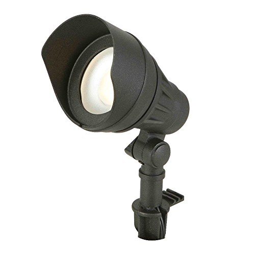 Low-Voltage LED (75W halogen equivalent) Outdoor Black Flood Light
