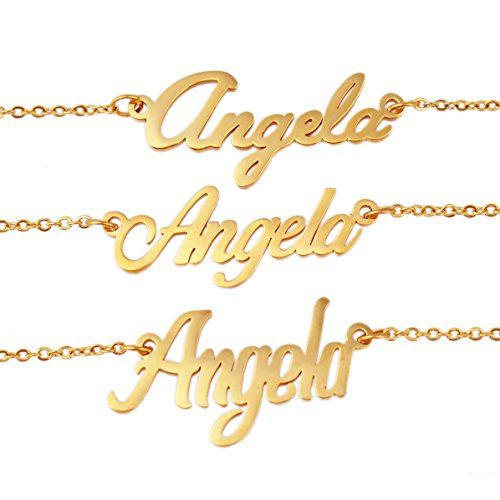 Arrow Custom Name Necklaces Words Girl's Jewelry]()