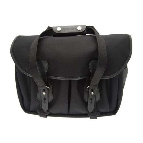 Billingham 335 Black Canvas Camera Bag with Black Leather Trim by Billingham (Image #5)