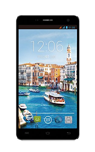 POSH MOBILE TITAN MAX HD ANDROID UNLOCKED DUAL SIM GSM 6.0″ HD PHABLET with ULTRA LIGHT 8.9mm slim design, EXTRA-large HD display, 13MP Camera and 8GB of Storage. 1 Year warranty. (Model#: E600 BLACK)