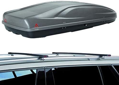 ABSOLUTE 400 LT BOX BAULE PORTATUTTO PORTABAGAGLI TETTO AUTO G3 MOD