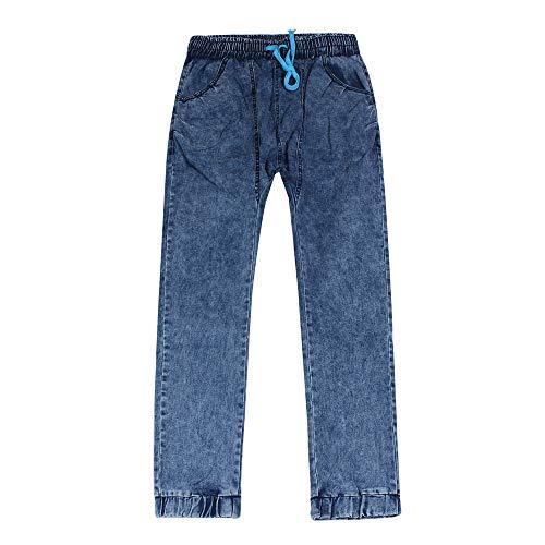 Sottile Paolian Pantaloni Inverno Jeans uomo Denim Pantaloni Autunno Blu Moda Elastico Casuale Uomo wgRTwqO