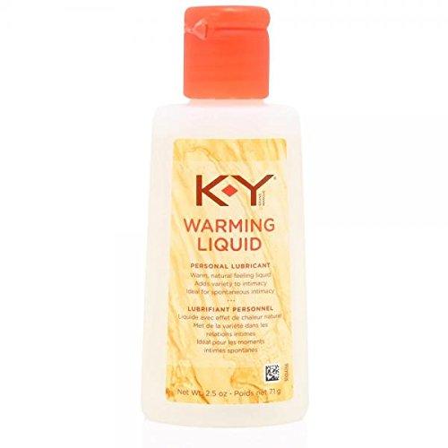 K-Y Warming Liquid Lubricant 2.5oz (Hulk Candy Bowl Holder)