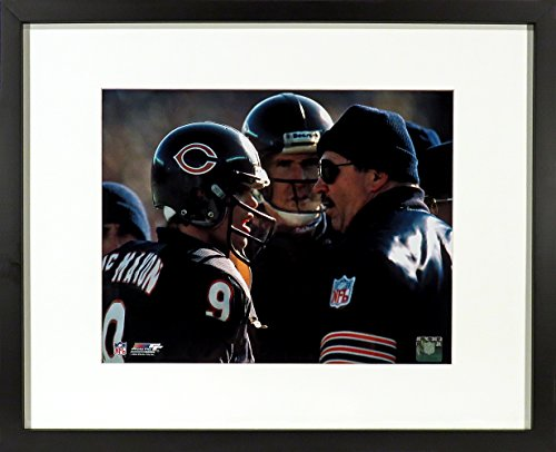 Mike Ditka & Jim McMahon Chicago Bears 8x10 Photograph (SGA UnderFifty Series) Framed (Jim Mcmahon Chicago Bears compare prices)