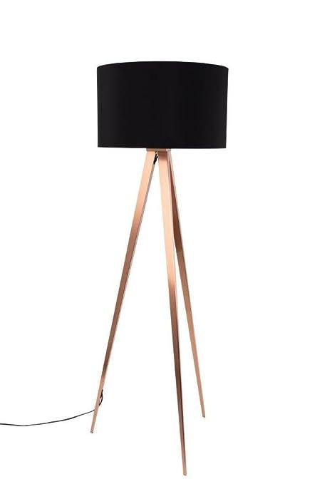 Lámpara de pie de diseño TRIPOD-deco zuiver COPPER