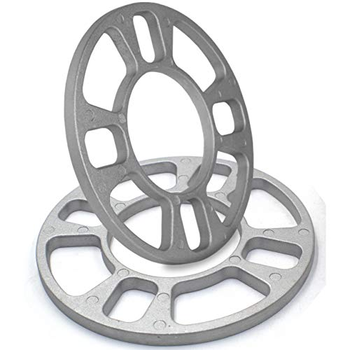 - 8mm Thickness Wheel Spacers fit 4x100mm, 4x108mm (4x4.25), 4x110mm, 4x114.3mm (4x4.50), 4x115mm, 4x136mm, 4x156mm, 6x114.3mm (6x4.50)