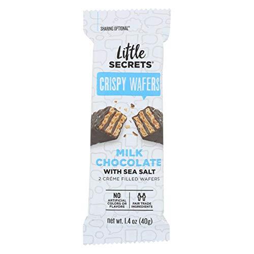 LITTLE SECRETS Milk Chocolate with Sea Salt Crispy Wafers, 1.4 OZ