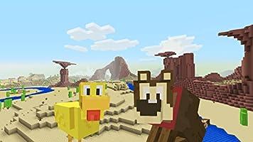 Minecraft - DLC,  Cartoon Texture Pack - Wii U [Digital Code]
