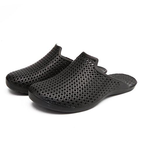 Zapatillas Negro Bajas Qianliuk Hombre de Caucho x1ARUqwY6