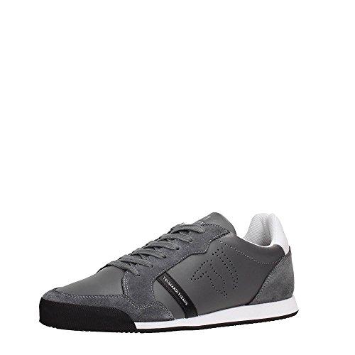 Calzado deportivo para hombre, color Negro , marca TRUSSARDI JEANS, modelo Calzado Deportivo Para Hombre TRUSSARDI JEANS 77S215 Negro gris