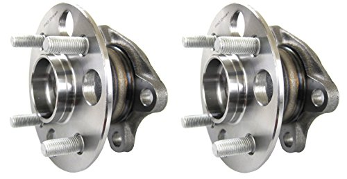 Pro Driven (Both) 512371 Wheel Bearing & Hub Assembly Rear for Toyota Yaris 2006-2007 (Wheel Hub 2 Pcs Car)