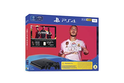 Playstation 4 1TB Slim Console with FIFA 2020 with Extra Controller