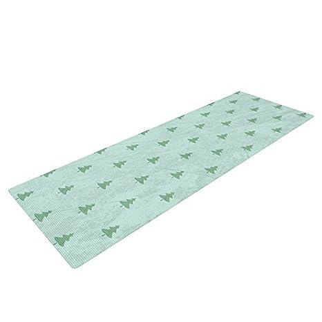 Amazon.com : Kess InHouse Snap Studio Pine Pattern Green ...