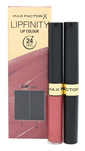 - Max Factor Lipfinity (Lip Paint & Moisturizing Top Coat) 30 Cool Fraiche