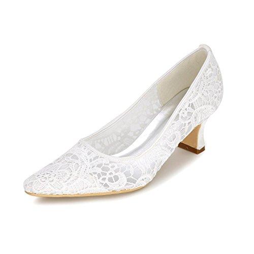 Y yc blanco Noche Blanco Planos fiesta De Negro Boda Con Rosa Mujer L zapatos Cabeza Zapatos Redonda 7BqUndH