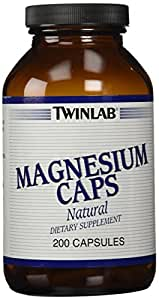 Twinlab Magnesium Caps 400mg, 200 Capsules