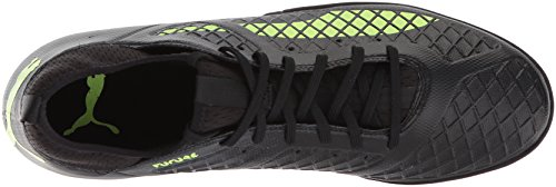 PUMA Mens Future 18.3 IT Soccer Shoe Puma Black-fizzy Yellow-asphalt GANVh