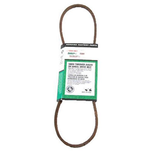 MTD Genuine Parts Snow Thrower Auger/Wheel Drive Belt - Single-Stage 1995 and After