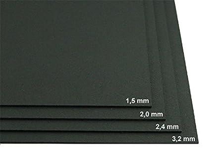 KYDEX Thermoplastischer Kunststoff zum Holster- und Messerscheidenbau Plattengr/össe ca 1 Platte 300mm x 600mm
