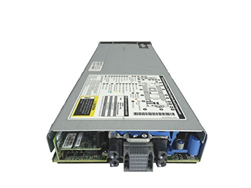 HP ProLiant BL460c G8 2-Bay SFF Blade Server, 2X Intel Xeon E5-2650 V2 2.6GHz 8C, 64GB DDR3, 2X 300GB 10K SAS 2.5, Onboard RAID (Renewed)