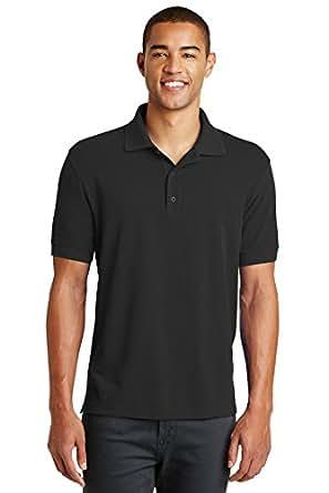Eddie Bauer Cotton Pique Polo At Amazon Men S Clothing Store