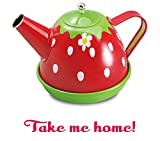 Liberty Imports Colorful Tin Tea Party Set for Kids