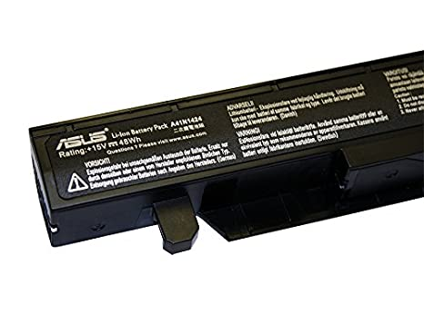 Amazon.com: Asus A41N1424 battery for Asus GL552, GL552JW, GL552JX, GL552V, GL552VW, ZX50, ZX50V, ZX50VW, FX-PLUS Series 15V 48Whr 4-Cell Primary Battery ...
