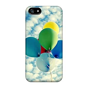 For Iphone 5/5s Premium Tpu Case Cover Ballons In The Sky Protective Case